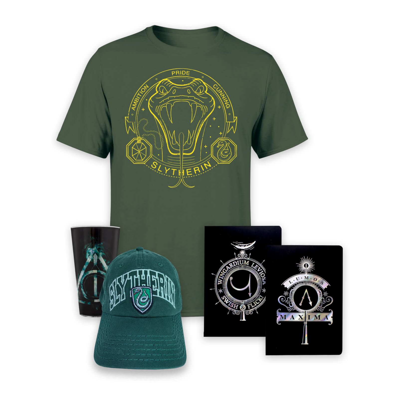 Pack Mágico Harry Potter - Slytherin - Women's -M - Forest Green de Harry Potter
