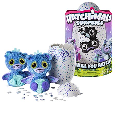 Spin Master Hatchimals Surprise Purple Teal Egg, versión importada , color/modelo surtido de HATCHIMALS