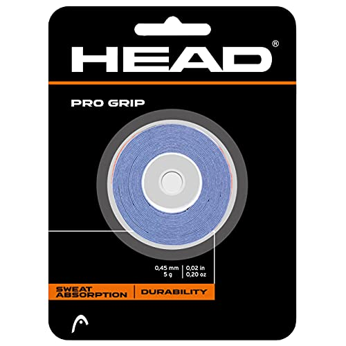 Head Pro Dz 285702-11-US - Overgrip con 3 correas de fijación, azul, talla unica de Head