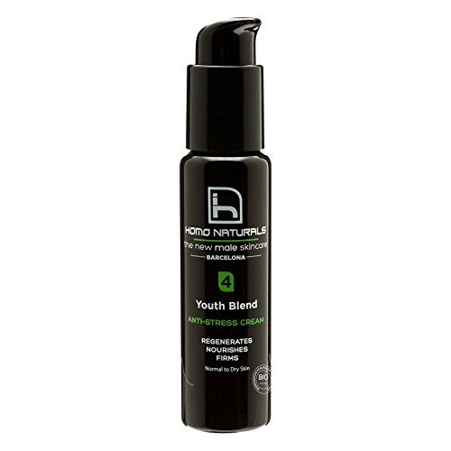 Homo Naturals Youth Blend Crema Anti Estrés para Piel Normal y Seca - 50 ml de Homo Naturals