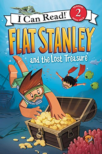 Flat Stanley and the Lost Treasure (I Can Read! Level 2: Flat Stanley) de HARPERCOLLINS