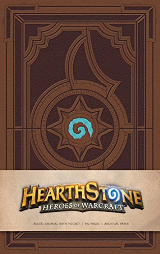HEARTHSTONE HARDCOVER RULED JOURNAL (Gaming) de Insight Editions