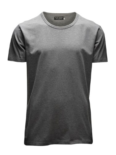 Jack & Jones Jones - Camiseta de manga corta con cuello redondo para hombre, Grau (LIGHT GREY MELANGE JJ LIGHT GREY MELANGE), X-Large de JACK & JONES