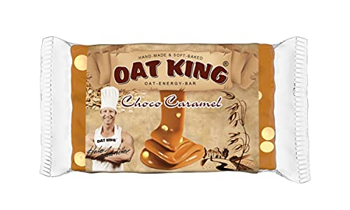 LSP Oat King Energy Bar Choco Caramel - 10 Barras de LSP
