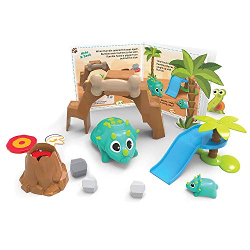 Learning Resources- Animalitos codificadores Rumble y Bumble, Color (LER3082) de Learning Resources