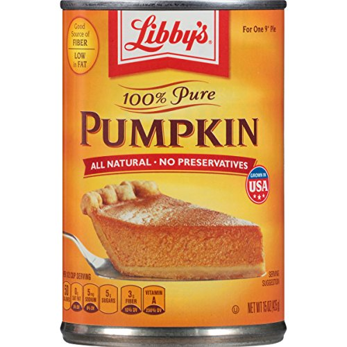 Libbys 100% Pure Pumpkin Pie Filling 425 g (Pack of 4) de Libby's
