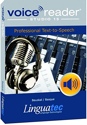 Voice Reader Studio 15 Vasco / Beuskal / Basque – Professional Text-to-Speech - Programa para convertir texto a voz (TTS) para Windows PC de LinguaTec