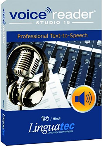 Voice Reader Studio 15 हिंदी / Hindi – Professional Text-to-Speech - Programa para convertir texto a voz (TTS) para Windows PC de Linguatec