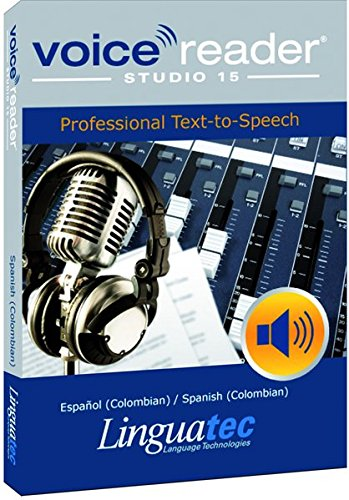 Voice Reader Studio 15 Español-Colombia / Español (Colombian) / Spanish (Colombian) – Professional Text-to-Speech - Programa para convertir texto a voz (TTS) para Windows PC de Linguatec