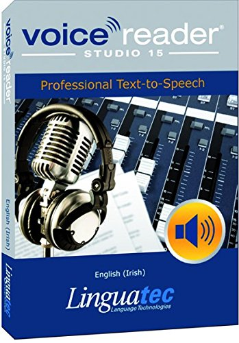 Voice Reader Studio 15 Inglés de Irlanda / English (Irish) – Professional Text-to-Speech - Programa para convertir texto a voz (TTS) para Windows PC de Linguatec