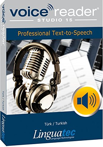 Voice Reader Studio 15 Turco / Türk / Turkish – Professional Text-to-Speech - Programa para convertir texto a voz (TTS) para Windows PC de Linguatec