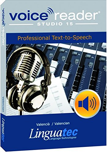 Voice Reader Studio 15 Valenciano / Valencià / Valencian – Professional Text-to-Speech - Programa para convertir texto a voz (TTS) para Windows PC de Linguatec