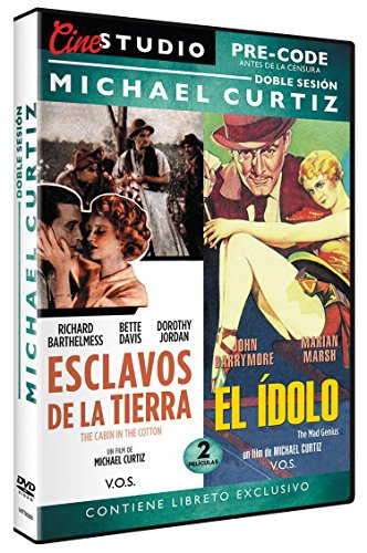 Doble Sesión Michael Curtiz: Esclavos de la Tierra / El Ídolo ( The Cabin in the Cotton / The Mad Genius) V.O.S. [DVD] de Llamentol S.L.