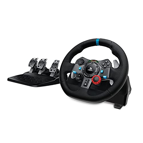 Logitech Driving Force G29 - Volante de carreras para PS4, PS3 y PC de Logitech