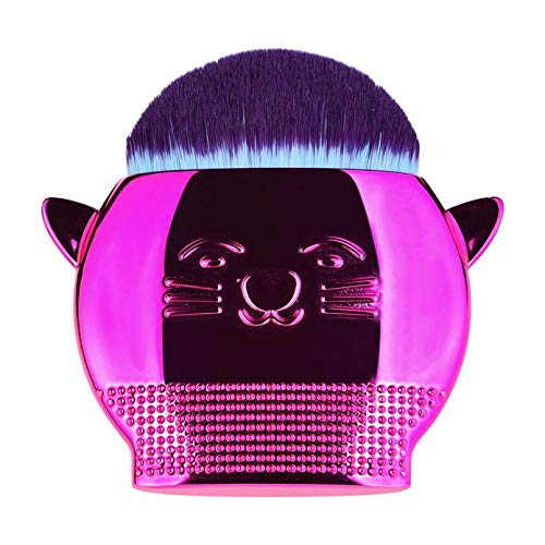 MEIYY Pincel de maquillaje 1 Unids Powder Foundation Brush Cute Cat Shape Maquillaje Brush Gradient Handle Powder Brush Comestics Herramienta Para Mujeres de MEIYY