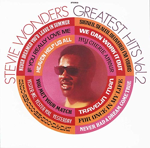 Stevie Wonder's Greatest Hits, Vol.2 de MOTOWN