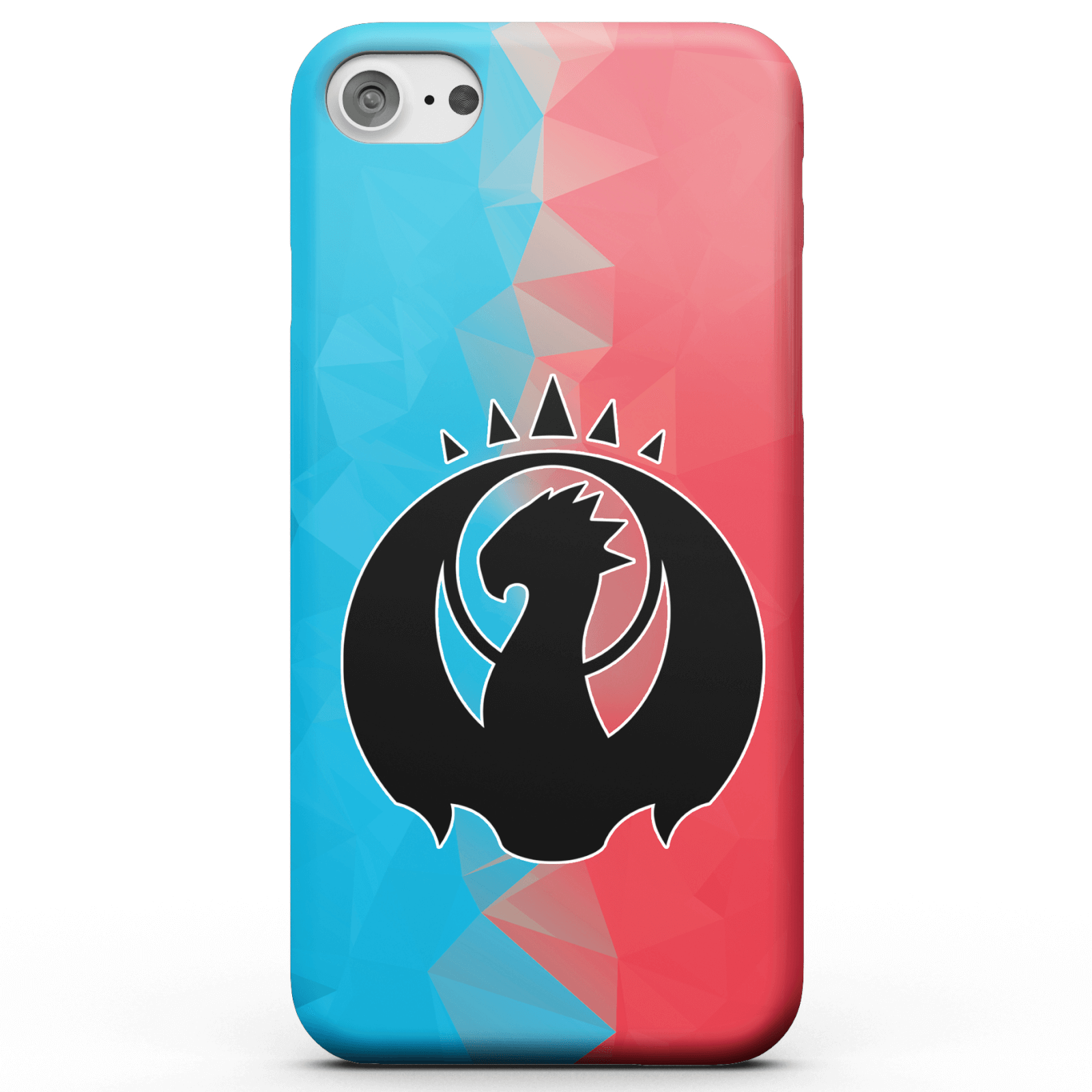 Funda Móvil Magic The Gathering Izzet Fractal para iPhone y Android - Samsung S6 Edge - Carcasa rígida - Brillante de Magic The Gathering