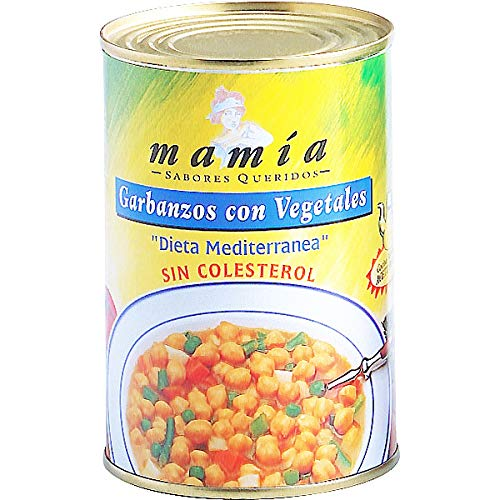 Garbanzos Con Vegetales L Mamia 425 Ml de Mamia