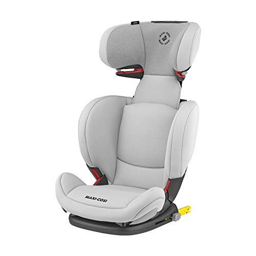 Maxi-Cosi RodiFix AirProtect Silla coche grupo 2/3 isofix, 15 - 36 kg, silla auto reclinable, crece con el niño 3.5 - 12 años, color authentic grey de Maxi-Cosi