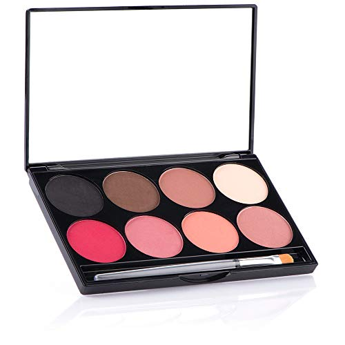 Mehron EYE and CHEEK 8-Color Powder Palette by Mehron de Mehron
