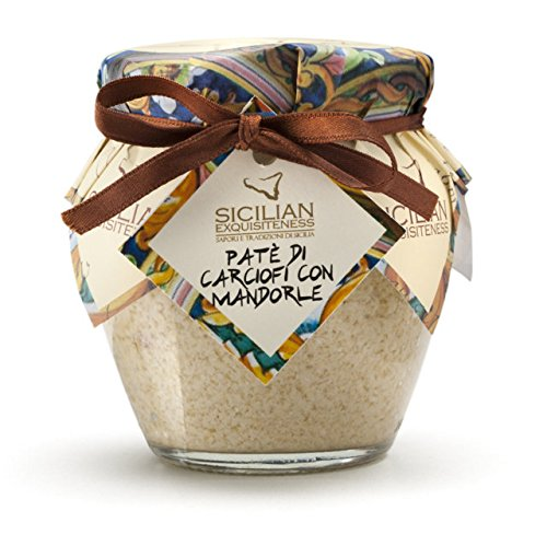 "Daidone - Handmade Sicilian Artichoke Pâté with Almonds - 12 Jars of 180g de Mercato Italiano ""Italian Specialties"""