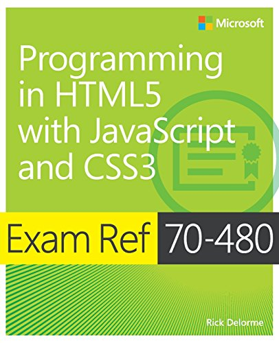 Exam Ref 70-480  Programming in HTML5  with JavaScript and CSS3 (Html5/Javascript) de Microsoft Press,U.S.
