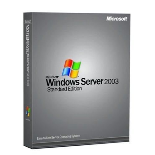 Microsoft Windows Server 2003 R2a Enterprise Edition - Licence and media - 25 CALs, 1 server (1-8 CPU) - OEM - CD - English de Microsoft