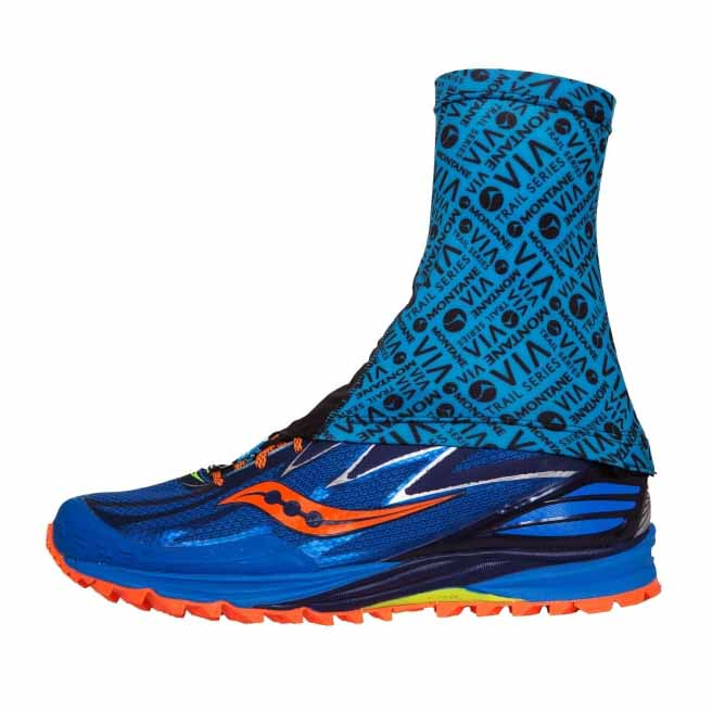 Montane Via Sock It M-L Blue Spark de Montane