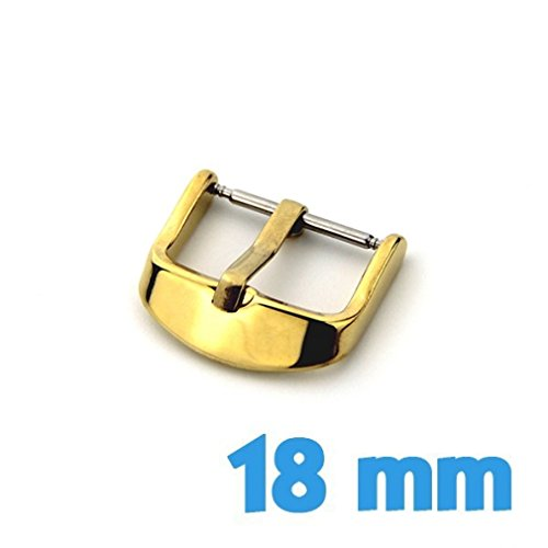 Attache reloj Ardillon 18 mm oro acero My-Montre de My-Montre