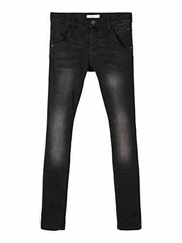 NAME IT Nitclas XSL Dnm Pant Nmt Noos Pantalones, Negro Black Denim, 122 para Niños de NAME IT