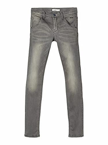 NAME IT Nitclas Xsl/xsl Dnm Pant Nmt Noos, Jeans Niños, Gris (Dark Grey Denim Dark Grey Denim), 152 de NAME IT