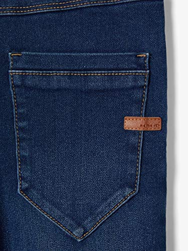 NAME IT Nittax Slim/XSL Dnm Pant Nmt Noos Jeans, Azul (Dark Blue Denim Dark Blue Denim), 116 para Niños de NAME IT
