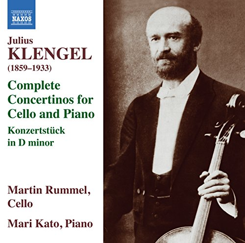 Klengel, J.: Cello Concertinos (Complete) / Concert Piece in D Minor (Rummel, Mari Kato) de Naxos