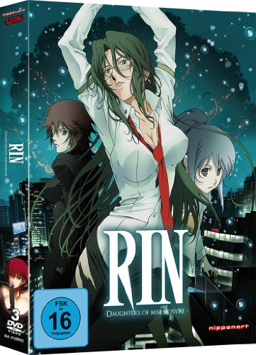 Rin - Daughters of Mnemosyne [3 DVDs] [Alemania] de Nipponart