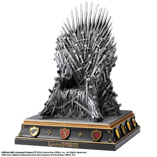 Noble Collection Iron Throne Bookend de Noble Collection