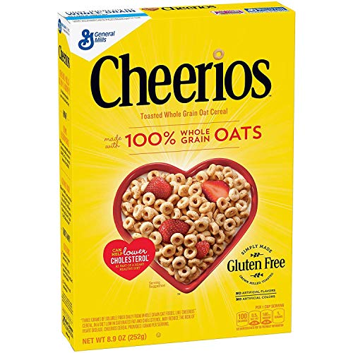 Cheerios Toasted Whole Grain Oat Cereal, 8.9 oz de Orly