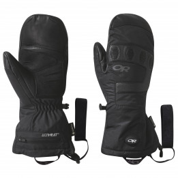 Outdoor Research - Lucent Heated Sensor Mitts - Guantes size XL, negro de Outdoor Research
