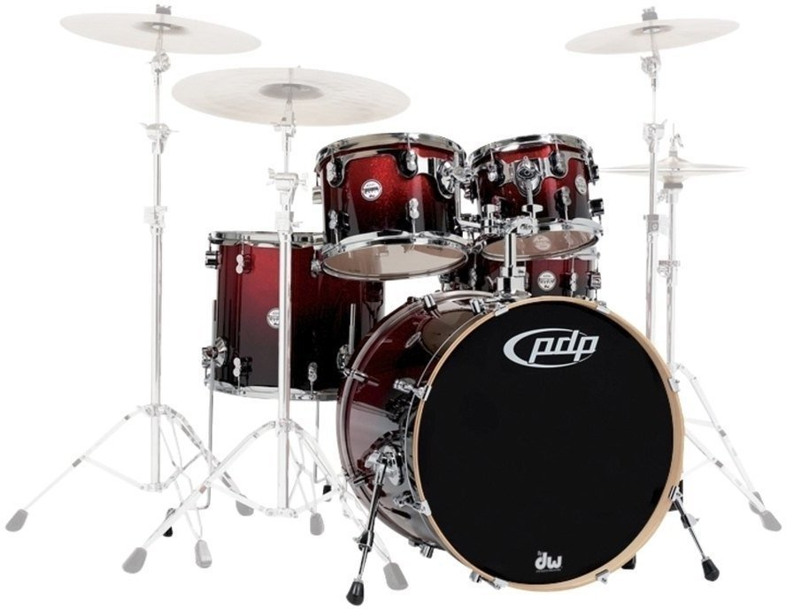 PDP by DW Concept Maple 22 Cherry Stain de PDP by DW