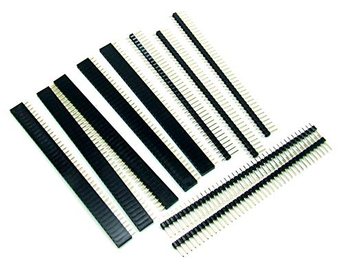 Details about  /10 Pcs 40 Pin 2.54mm Single Row Male Pin Header Strip