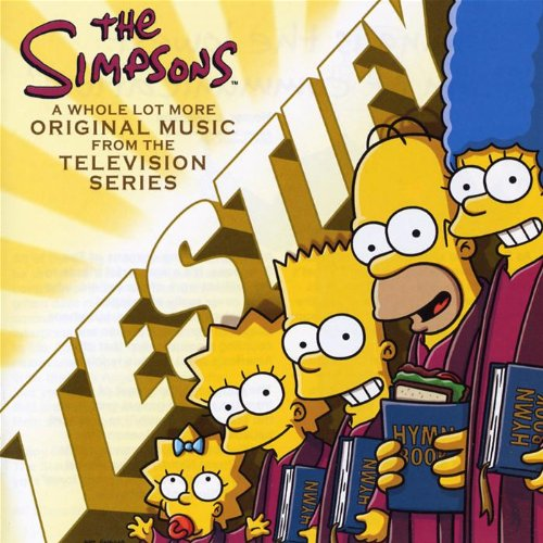 Simpsons Testify:a Whole Lot.. de Parlophone