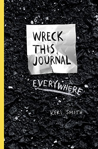 Wreck this journal everywhere de Penguin
