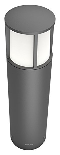 Philips Lighting LED-Außenstandleuchte 6W Warm-Blanco 164669316 Stock Antracita de Philips