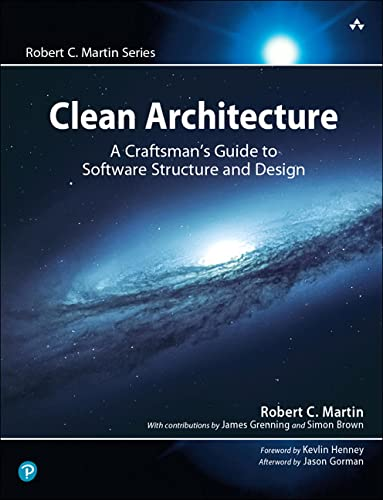 Clean Architecture: A Craftsman's Guide to Software Structure and Design (Robert C Martin) de Prentice Hall