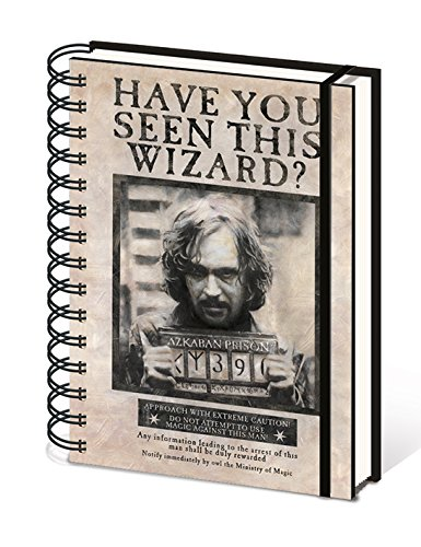 "Pyramid International A5 Harry Potter""Wanted Sirius"" portátil – negro de Pyramid International"