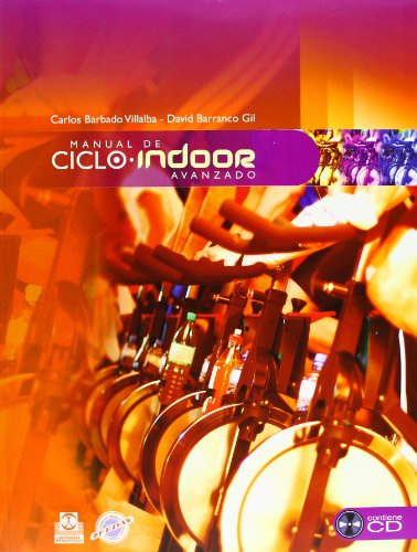 Manual de ciclo indoor avanzado. (Color- Libro+CD) (Deportes) de Paidotribo