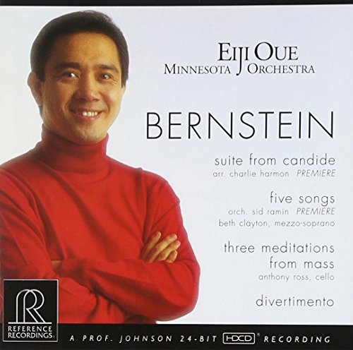 Bernstein - Candide Suite de REFERENCE RECORDINGS