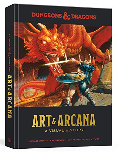 Dungeons And Dragons Art And Arc: A Visual History (Dungeons & Dragons) de Random House LCC US