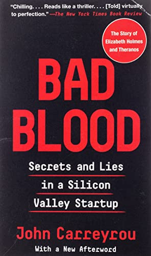 Bad Blood: Secrets and Lies in a Silicon Valley Startup de Random House LCC US
