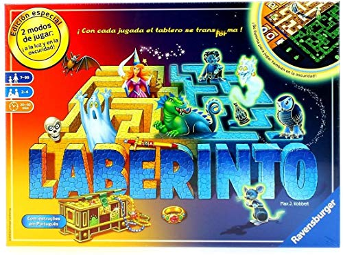 Ravensburger- Juego Laberinto, Glow in The Dark, Miscelanea (26692) de Ravensburger