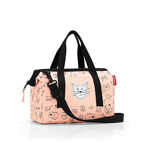 Reisenthel Allrounder XS Kids Cats and Dogs Bolsa de Deporte Infantil, 27 cm, 5 Liters, Rosa (Rose) de Reisenthel